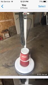 Flor burnisher and buffing machine
