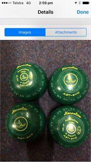 ABT EVO SIZE 4 HEAVY Stamp18 bowls