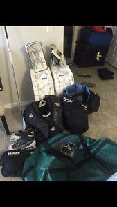 Men's full set goalie gear