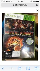 Mortal Kombat game XBOX 360 Harrington Park Camden Area Preview