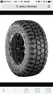 35x12.5r20   Mud tire , pour jeep Wrangler , pick-up