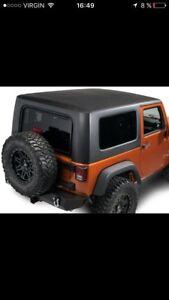 Toit rigide Jeep Wrangler 2016 état neuf