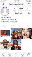 80k INSTAGRAM ACCOUNT FOR SALE