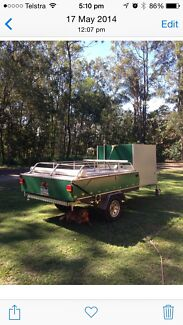 Camper trailer Boronia Heights Logan Area Preview
