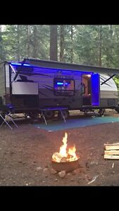 Rental- 22 ft Greywolf camping trailer with bunks!