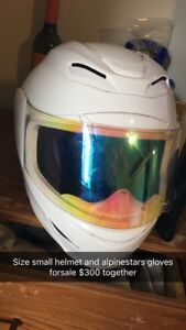 Icon armada size small motorcycle helmet