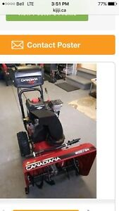 Excellent snowblower $625  if sold this weekend