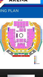 UFC 221 x 2 tickets