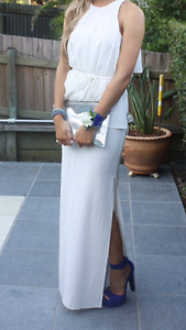 Sass and Bide White Evening  Dress McDowall Brisbane North West Preview