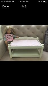 Bed & Change Table  / Pottery Barn