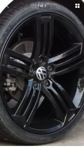 Golf R mk6 wheels style 19 inch black new Castlereagh Penrith Area Preview