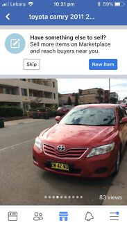 2011 Model Toyota Camry Altise Guildford Parramatta Area Preview