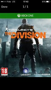 Xbox one the division for trade
