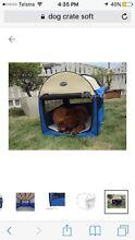 Soft dog cat crate Balmain Leichhardt Area Preview
