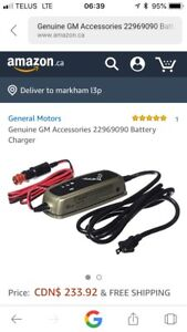 Chevrolet Corvette OEM Charger GM battery charger. New! 100$
