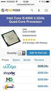 Processeur i5-6500 3,2