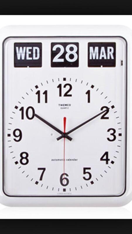 twemco standard wall clock