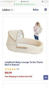 Lulyboo Travel and Play Sleep System. Bassinet