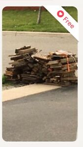 Will pay $15 to pick up wood