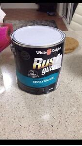 NEW RUST GUARD EPOXY ENAMEL SATIN BLACK TRAILER PAINT Merrylands Parramatta Area Preview