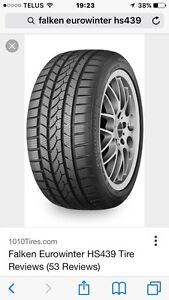 255/55 R18 Snow tires (have the snowflake)