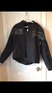Motorcycle padded jacket size SMALL