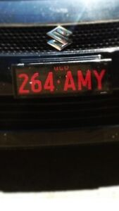 Personalised number plate North Lakes Pine Rivers Area Preview