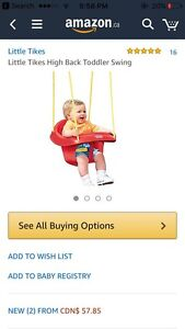 BRAND NEW IN ORIGINAL PACKAGING outdoor infant swing