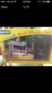 Breyer horse riding Stable toy
