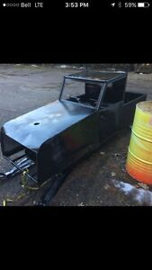 Rat rod snowmobile