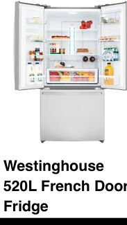 Westinghouse 520L French Door Fridge - 2 MONTHS OLD RRP$2549