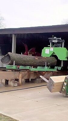 New-2020 Lumber Maker- Fully Complete 7hp 301cc Portable Sawmill Saw Mill