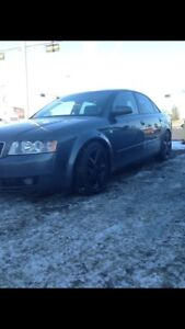 Selling my 2004 audi a4 1.8t