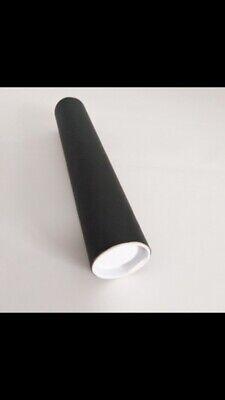Black Strong Cardboard A3 Postal Drawing Tube