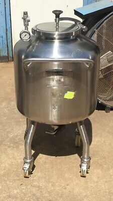Vestec Stainless Steel Kettle Tank. Will Ship Send Address For Quote.