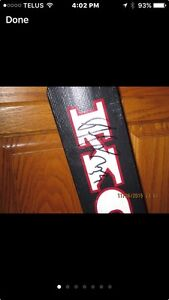 PATRICK ROY SIGNED GAME ISSUED GOALIE STICK. NHL READY!