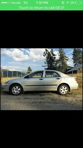 2003 Toyota Corolla good condition
