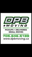 DPB moving delivery and storage