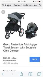 BRAND NEW - stroller only - read description!