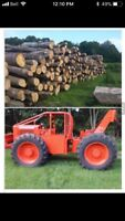 Forestry services. Ponds roads etc.