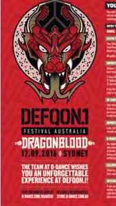 Defqon1 VIP ticket Sydney City Inner Sydney Preview