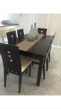 Dinner table with chairs Green Valley Liverpool Area Preview