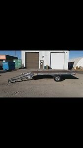 Strong Haul aluminum 3 place trailer