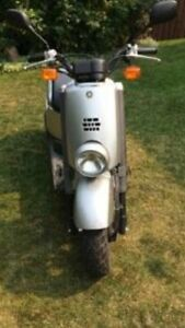 2007 Yamaha gas moped