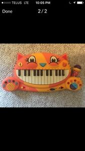 Keyboard b brand meowsic kids piano microphone baby toy