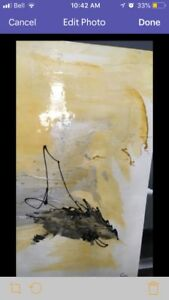 Picture beautiful. size 48x36 cent...