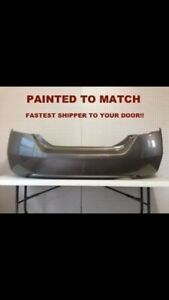 New painted Honda Accord Civic crv pilot front rear bumpers