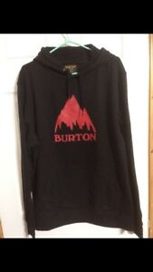 Brand new Burton Hooded Sweatshirt