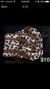 Well taken care of backpack/purses for sale!