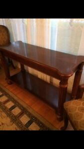 Solid Wood Console